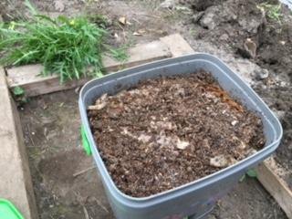 Bokashi Eimer Organischen Bokashi Dunger Aus Bio Abfall Selbst Hers